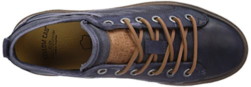 Yellow Cab Rail M, Baskets Basses homme Bleu - Bleu