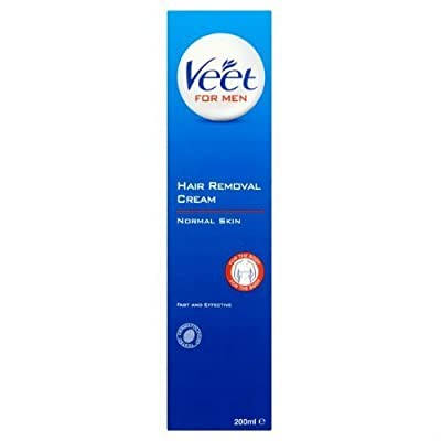 Veet Cream For Men Hair Removal Gel Cream 200ml Case of 6