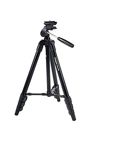 Fotopro DIGI 3400 3 Dimensional Head Tripod Stand with Carry Bag for DSLR/DV/Digital Camera  Black  Tabletop   Travel Tripods