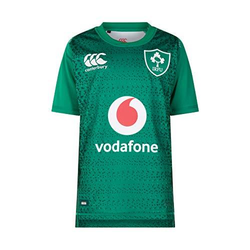 Canterbury per bambini ufficiale irlanda 18/19home pro rugby maglia, bambino, b809420t53, bosphorus, taglia 10