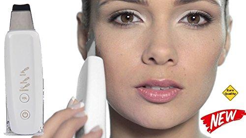 Wonder Cleaner Ultraschall Skin Scrubber Cleaner & Peeling Porenreinigung & Ultraschall Peelinggerät & Mikrodermabrasion Ionentherapie & Gesichts Ultraschallgerät