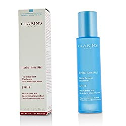 Clarins Hydra-Essentiel Moisturizes & Quenches Milky Lotion SPF 15 - Normal to Combination Skin 50ml/1.7oz