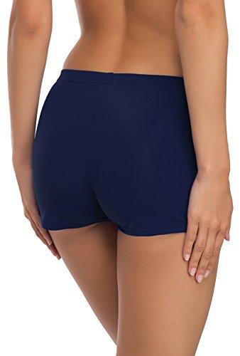 Merry Style Damen Badeshorts Bikinihose Modell L23L1 Dunkelblau (6007)