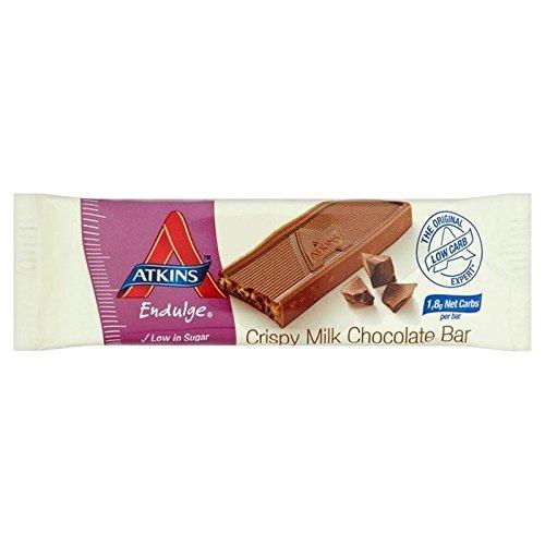 Endulge Schokolade (Atkins Endulge Milchschokolade Knusprigen Bar 30g (Packung von 6))