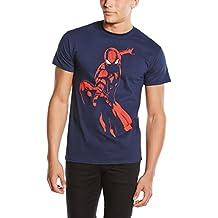 Marvel Ultimate Spiderman Spidey Shadow - Camiseta manga corta Hombre
