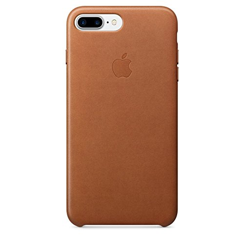 Apple MMYF2ZM/A Leather Phone Case for Apple iPhone 7 Plus (Saddle Brown)