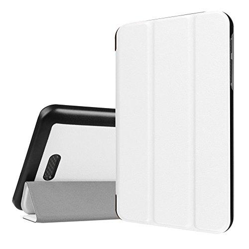WiTa-Store Hülle für Acer Iconia One 7 B1-780 7.0 Zoll Schutzhülle Etui Tablet Tasche Smart Cover (Weiß)