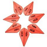 Gwendoll 50 Unids 2 Pulgadas Caza Blazer Vanes Flecha Fletching Archery Shield Plumas de Pavo para Piezas de Accesorios de Bricolaje