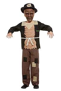 Smiffys 50929L - Disfraz de espantapájaros (licencia oficial, talla L, para niños de 10 a 12 años)