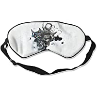 Sleep Eye Mask Ink Painting Lightweight Soft Blindfold Adjustable Head Strap Eyeshade Travel Eyepatch E10 preisvergleich bei billige-tabletten.eu