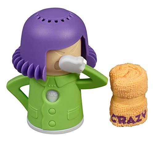 Crazy Mama Kühlschrank- und Mikrowellenreiniger mit Essig und Wasser (lila-grün)