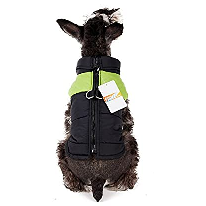 PAWZ Road Pet Clothes For Small Medium and Large Dogs Winter Warm Vest Jacket Easy On/Off Pink 5L 5