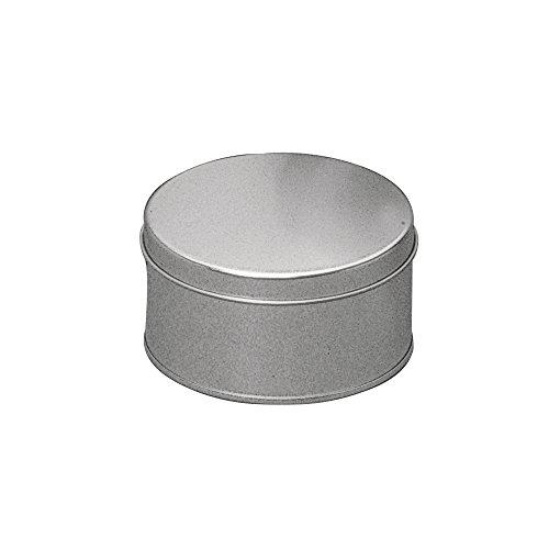 Rayher Hobby 2600600  Metalldose Rund, 11 x 6 cm