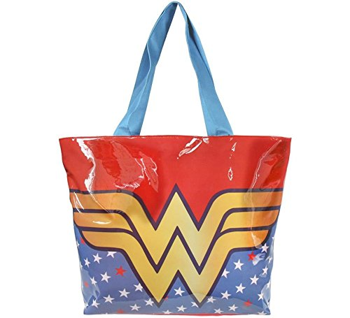 Wonder Woman Large Shopping Bag, Reusable
