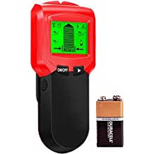 Detector Electrónico Profesional Detector de Pared Escáner de Pared Clásico y Multifuncional Detector de Metales Madera y Cable de CA