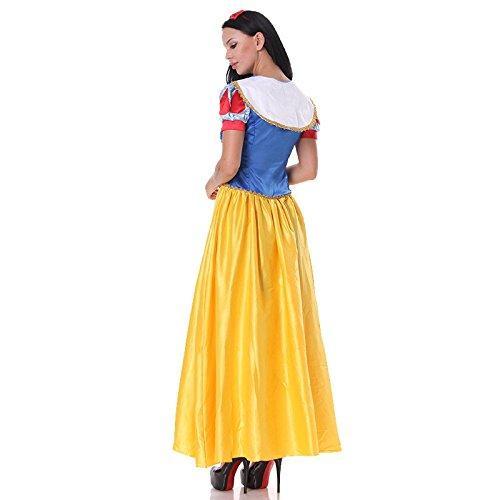 (Prinzessin Rock Cosplay Prinzessin Kleid Accesorio Sexy Halsband Kurzarm Kostüm Fee)
