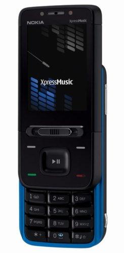 Nokia 5610 XpressMusic warrior blue (UMTS, Bluetooth, MP3, Kamera mit 3,2 MP) UMTS Handy (Wecker Radio Digital Frame)