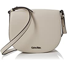 Amazon.it  borsa calvin klein tracolla - Grigio b6051b180d2