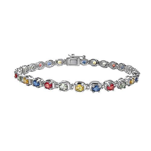 jaipuri-instyle-bracciale-da-donna-in-argento-925-rodiato-granat-19-cm-b168ms