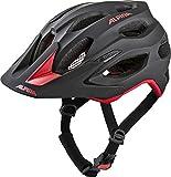 Alpina Unisex- Erwachsene Carapax 2.0 Fahrradhelm, Black-red, 57-62 cm
