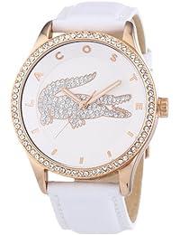 Lacoste - 2000821 - Victoria - Montre Femme - Quartz Analogique - Cadran Blanc - Bracelet