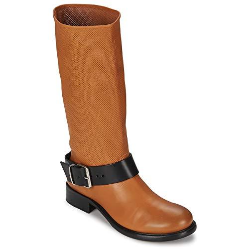 Marithé & Francois Girbaud DEGAINE Stiefelletten/Boots Damen Cognac - 38 - Boots Marithe Girbaud