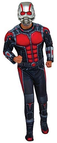 Rubie 's Offizielles 's ant-man Deluxe Kostüm für Erwachsene–STANDARD (Erwachsene Ant Man Deluxe Kostüme)
