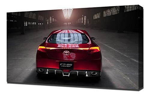 2010-Toyota-FT-86-Concept-V3-1080 - Stampa Artistica su Tela - Stampa Tela Canvas