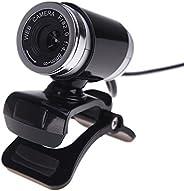 Eastdall PC Webcam,USB 2.0 50 Megapixel HD Camera Web Cam with MIC Clip-on 360 Degree for Desktop Skype Comput