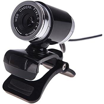 fitTek/® USB 50MP Webcam Web Cam Kamera mit MIC f/ür Desktop PC Laptop Winkeleinstellbar