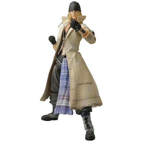 Final Fantasy XIII Play Arts Kai série 1 figurine Shadow Villiers 26 cm