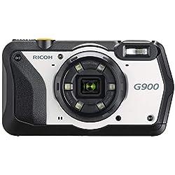 RICOH G900 Appareil Photo/vidéo numérique Industriel Solution Appareil Photo Haute résolution 20MP Zoom Optique 5X Appareil Photo écran LCD 3 Pouces Notes GPS intégré Protection par Mot de Passe