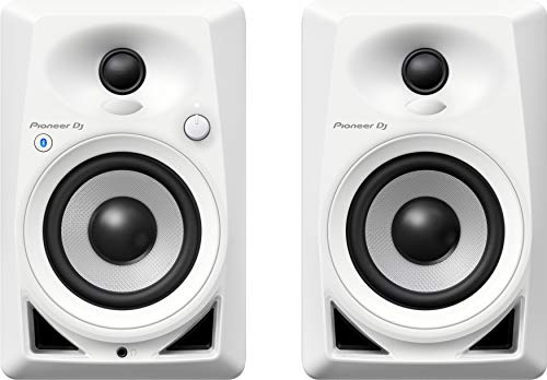 PIONEER DJ Pioneer DJ DM-40BT-W Casse Desktop Monitor speakers con Bluetooth« Bianco
