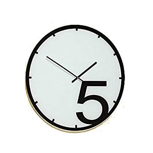 Tamia-Home Wanduhr Sina Glasuhr Wanddekoration Uhr Bilderuhr Glasbilder D58cm (5 Uhr)