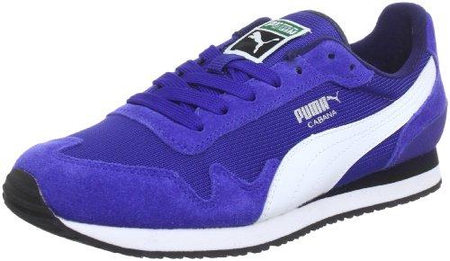 Puma Cabana Mesh Sport 355854 Unisex-Erwachsene Sneaker Blau (mazarine blue-white 01)