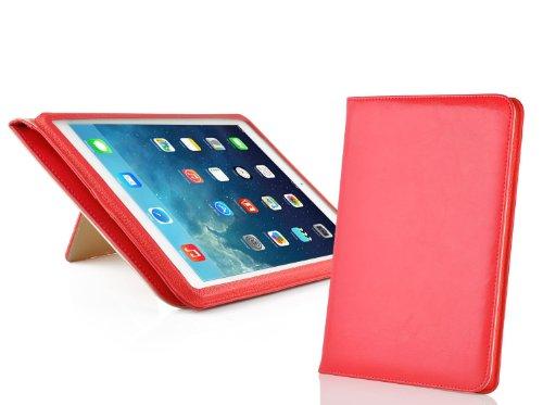 jammylizard-funda-de-cuero-lincoln-para-ipad-air-2013-5-generacion-tipo-libro-smart-case-rojo