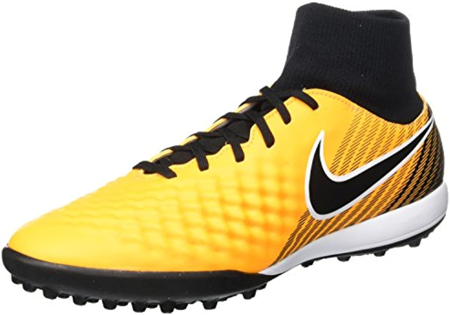 Nike Magistax Onda II Dynamic Fit TF, Zapatillas de Fútbol para Hombre, Naranja (Laser Orange/Black-White-Vert...
