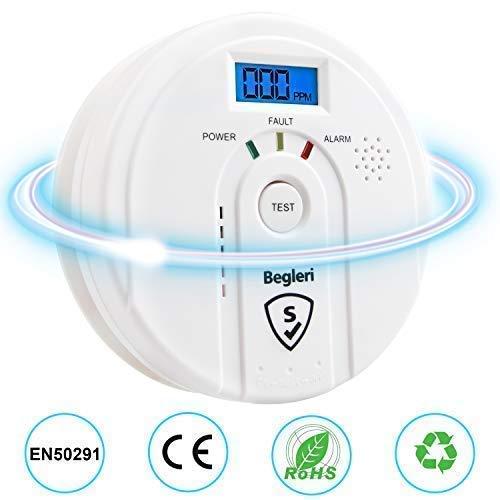 Kohlenmonoxid-Warnmelder EN50291 Zertifiziert/CO- Melder