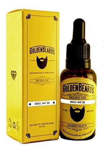 Golden Beards - Aceite de Argan y Jojoba Hidratante Orgánico para barba y...