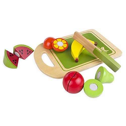 colorbaby-juego-de-frutas-madera-natural-12-piezas-42759
