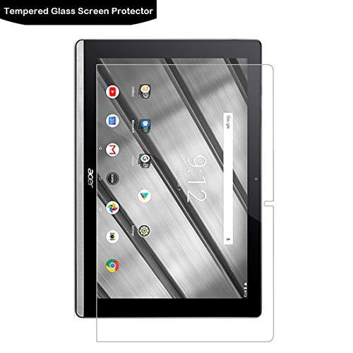 Acer Iconia One 10 B3-A50 Bildschirmschutzfolie - LOKEKE 2.5D Ro& Edge Panzerglas Bildschirmschutz für Acer Iconia One 10 B3-A50 aus echtem Glas