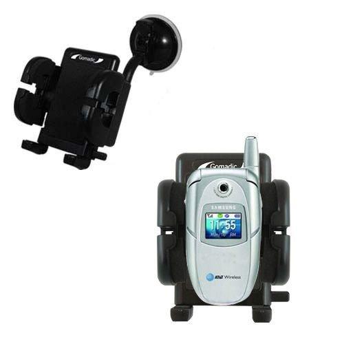 Samsung SGH-E316 / E317 Windschutzscheibenhalterung für KFZ / Auto - Cradle-Halter mit flexibler Saughalterung für Fahrzeuge