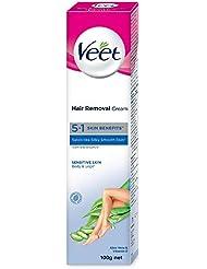 Veet Silk and Fresh Hair Removal Cream, Sensitive Skin - 100 g