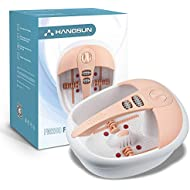 Hangsun Foot Spa And Massager FM200 Foot Bath With Infrared Heat And Magnetic Therapy For Foot Care