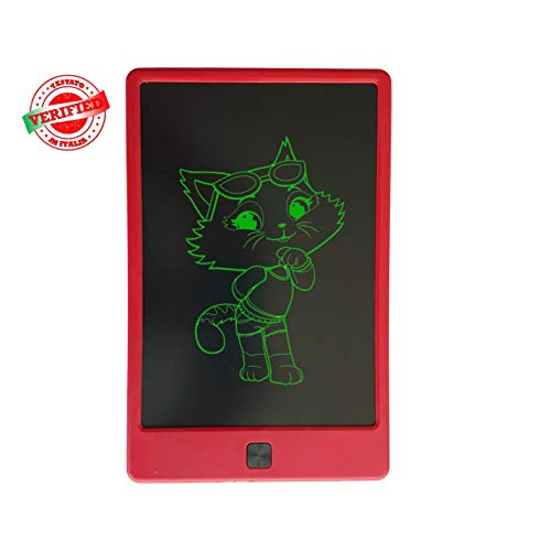 "writer tablet Tablet KMK Writers 9"" (ROSSO). Tablet LCD Per Scrivere"