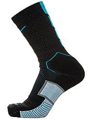 Nike Matchfit Elite Mercurial - Calcetines unisex, color negro / azul, talla XL