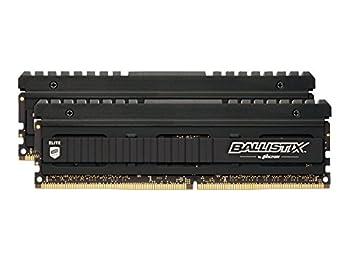 Ballistix Elite BLE2C8G4D30AEEA/BLE2K8G4D30AEEA 16 GB Kit (8 GB x 2, DDR4, 3000 MT/s, PC4-24000, Dual Rank x8, DIMM, 288-Pin) Memory