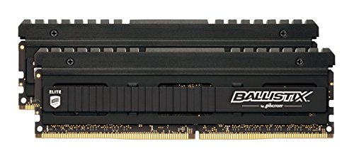 Ballistix Elite 16GB Kit (8GBx2) DDR4 3200 MT/s (PC4-25600) SR x8 DIMM 288-Pin - BLE2C8G4D32BEEAK