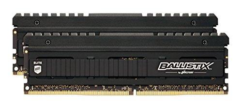 Ballistix Elite BLE2C4G4D26AFEA 8GB (4GBx2) Speicher Kit (DDR4, 2666 MTs, PC4-21300, SR x8, DIMM, 288-Pin) bei Amazon