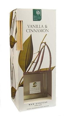Wax Lyrical Royal Horticultural Society Vanilla & Cinnamon Reed Diffuser
